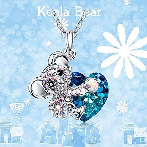 ¡Colgante juvenil de koala con cristales Swarovski a precio de Superchollo!
