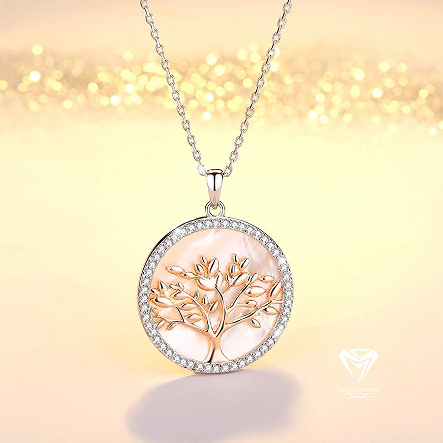 El árbol de la vida con cristales Swarovski que simboliza la FAMILIA
