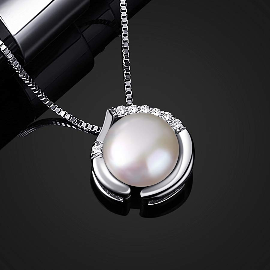 Colgante B.Catcher de plata con perla