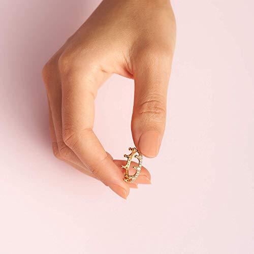anillo corona de oro Pandora